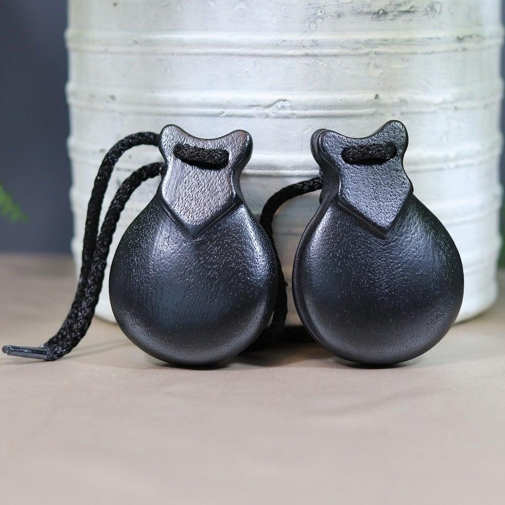 black souvenir castanets