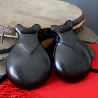 double sound box castanets