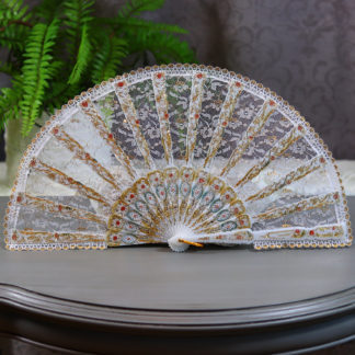 all lace fan