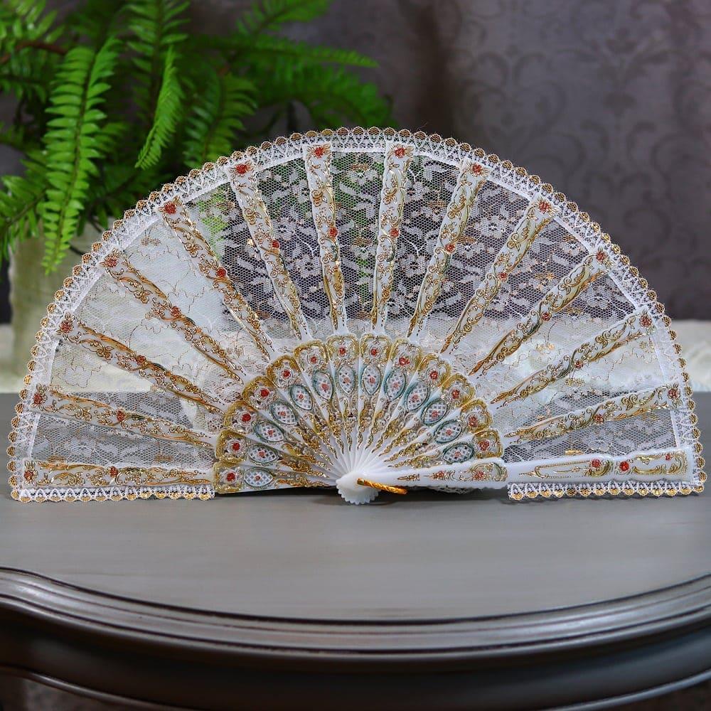 all lace fan