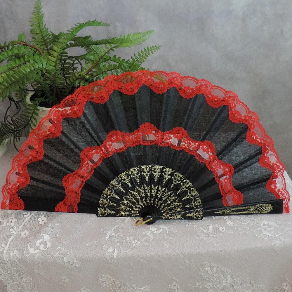 flamenco dance fan