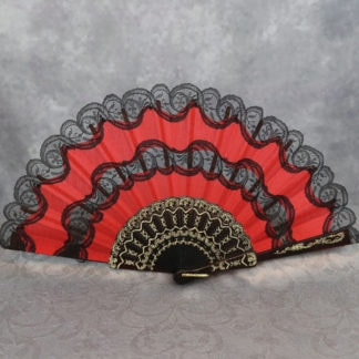 elegant Spanish hand fans
