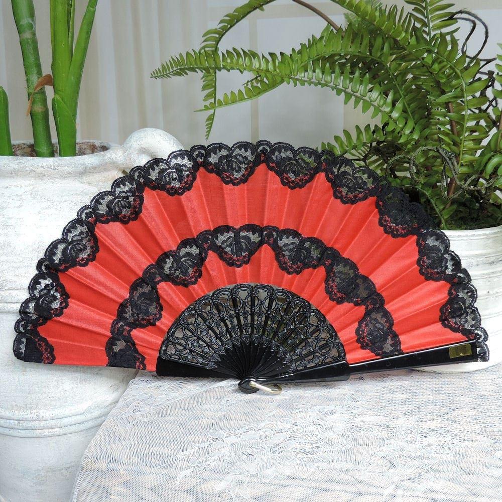 Premium lace fan