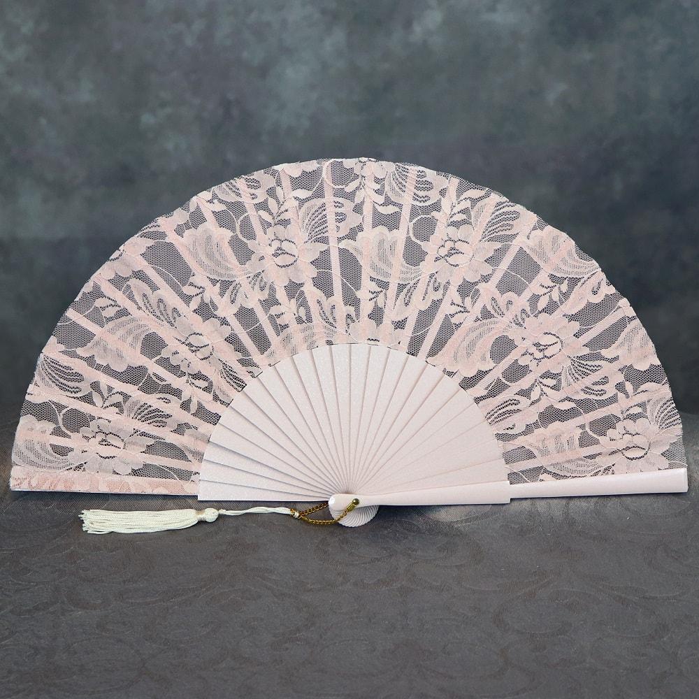 lace bridal hand fan