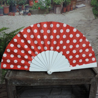 polka dot fan
