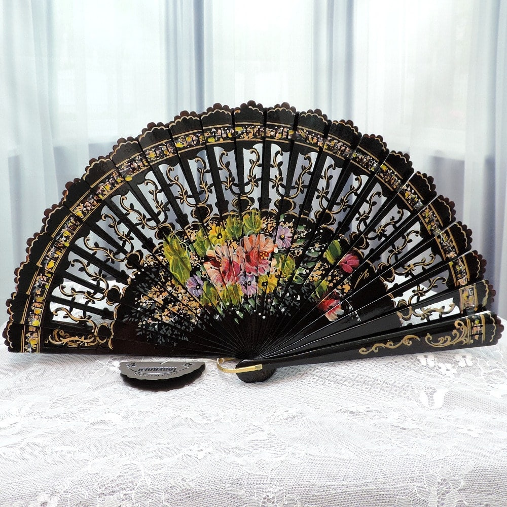 Collectors hand fan