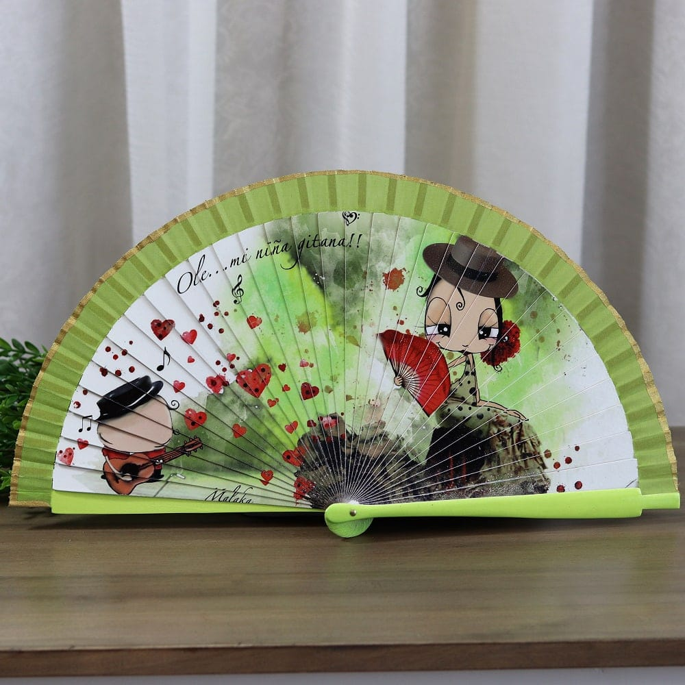 Malaka collection hand fan