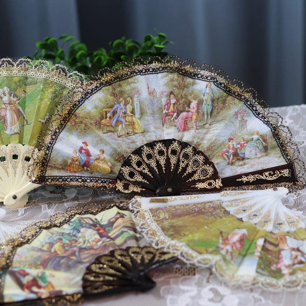 Victorian mini fans