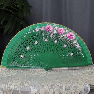 painted Spanish fan