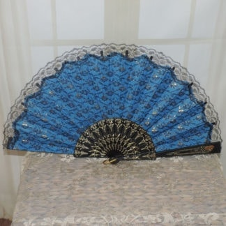 Large lace dance fan