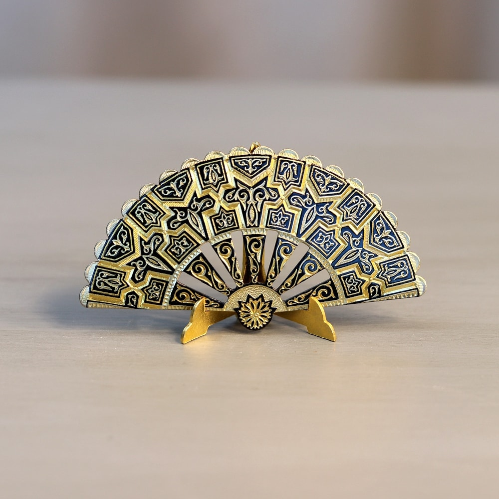 damascene mini fan