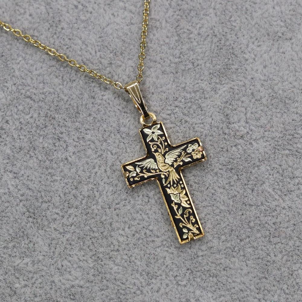 small damascene cross