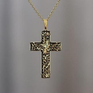 damascene cross