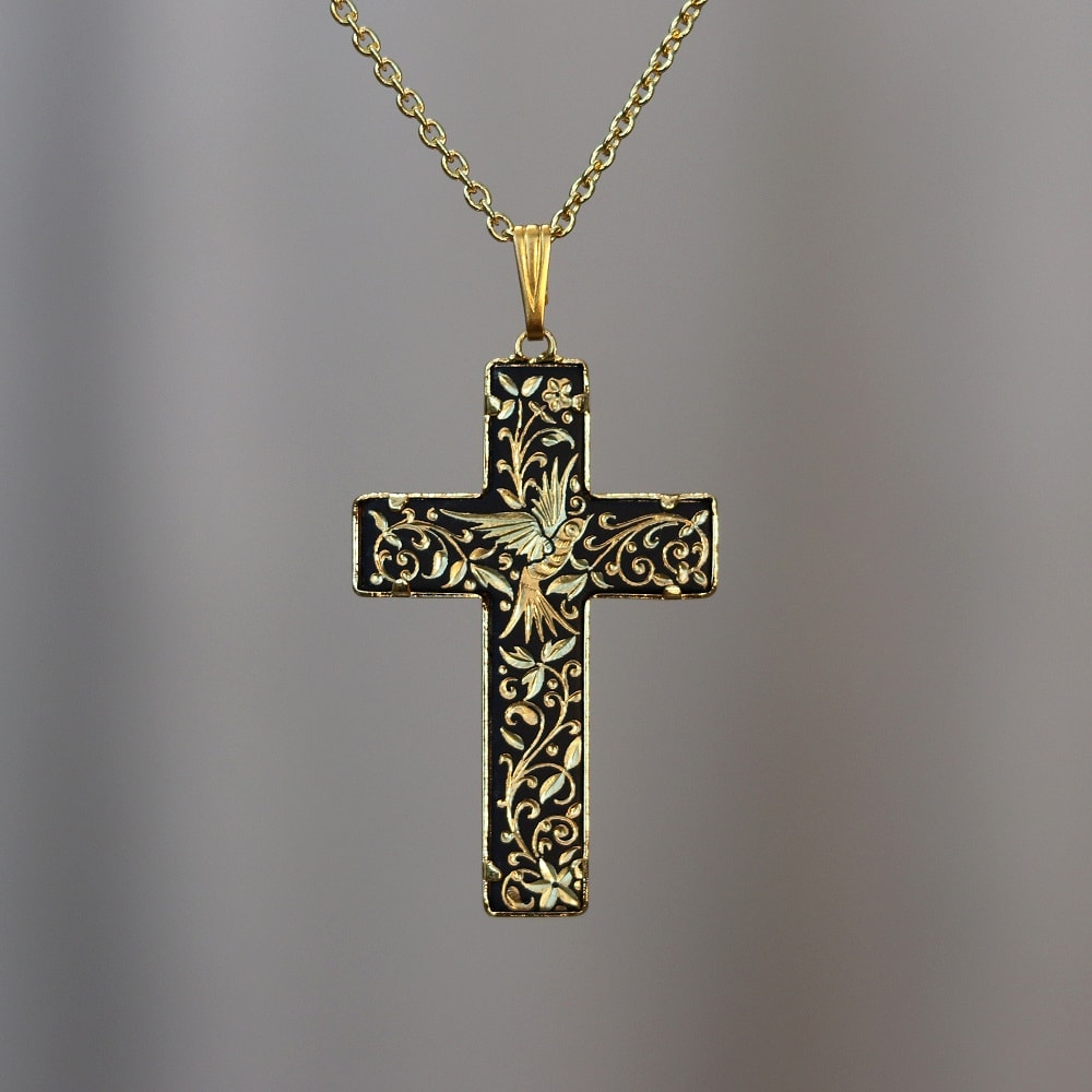 damascene cross