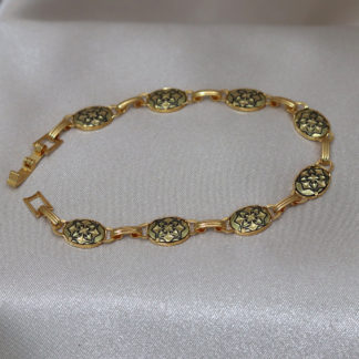 small oval link bracelet