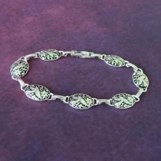 silver damasquino bracelet