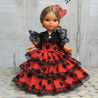 medium flamenco doll