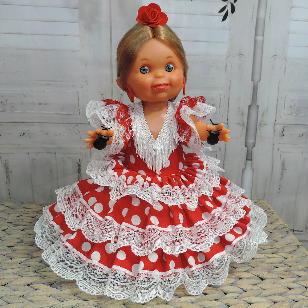 adorable Spanish doll