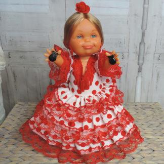 Spanish flamenco doll