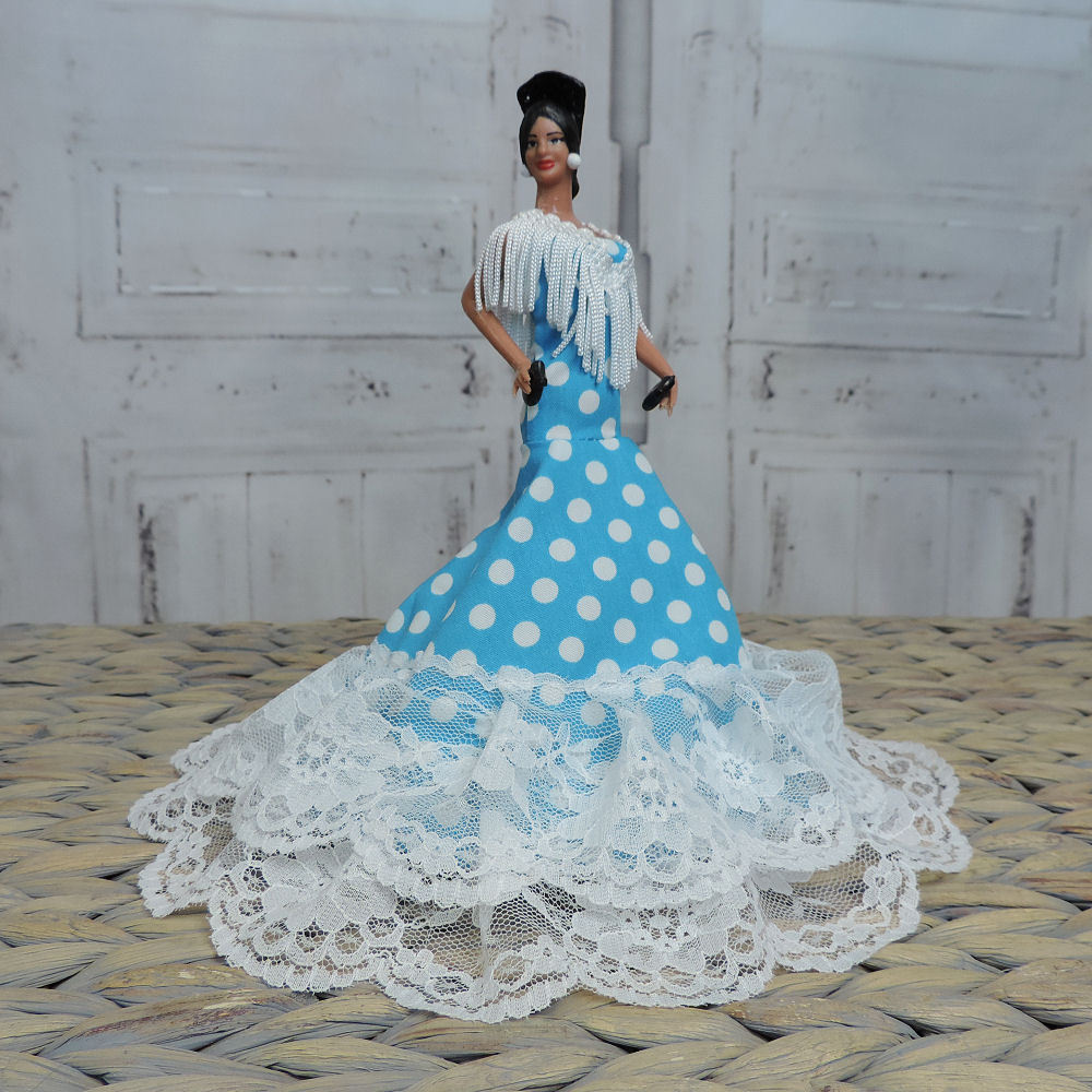 Flamenco dancer doll