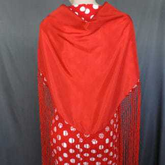 traditional flamenco shawl