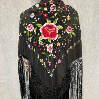 silk shawl