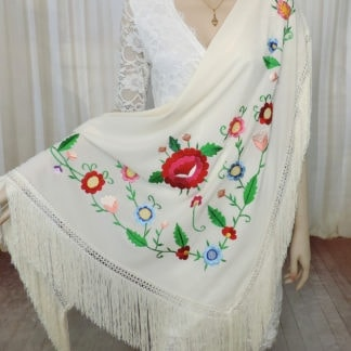 traditional Spanish shawl