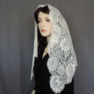 authentic Spanish church veil
