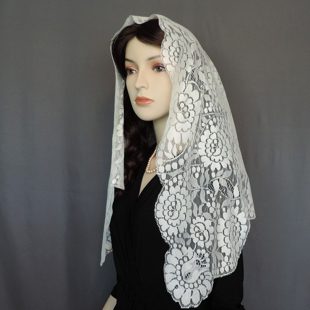 authentic Spanish church veil