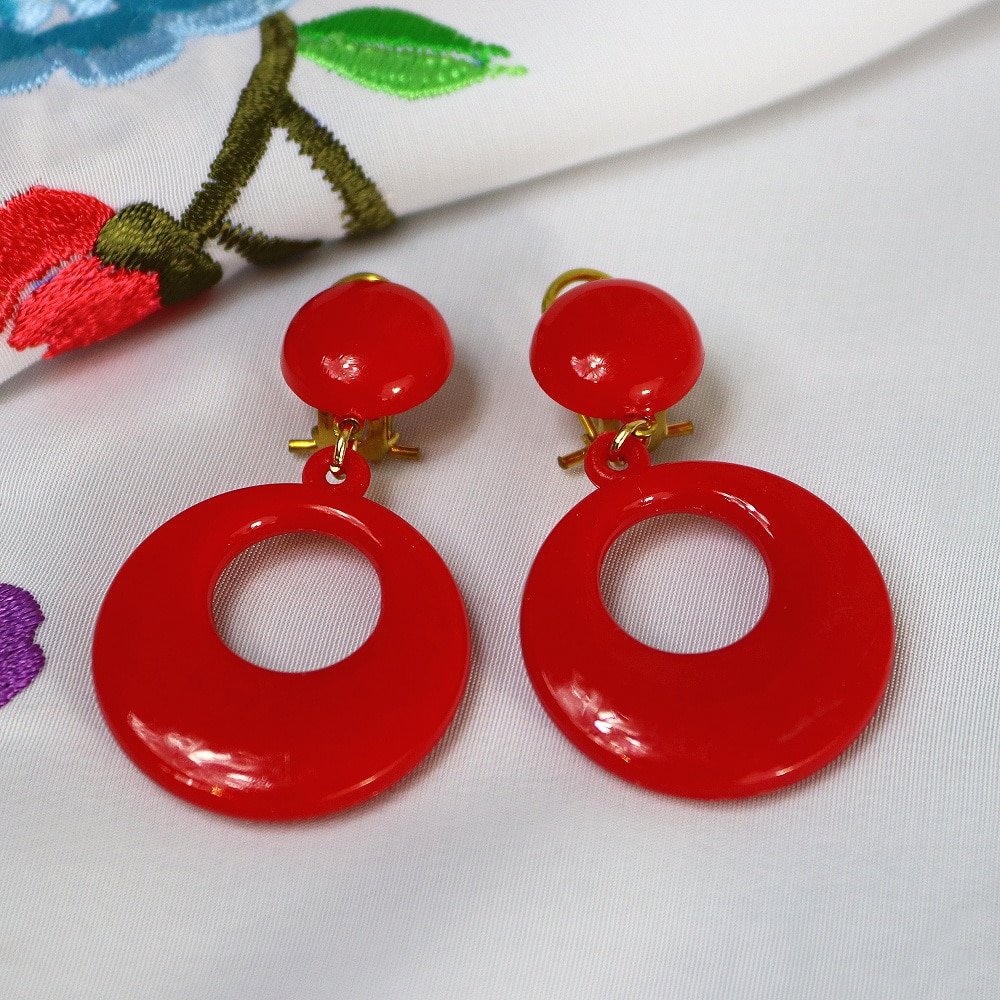 girls flamenco earrings